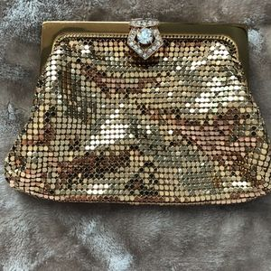 Stunning Gold Vintage Evening Purse